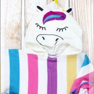 Unicorn hooded Towel/Beach Towel
